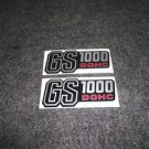 SUZUKI 1978 1979 GS1000 SIDE COVER DECAL SILVER