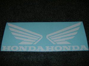 HONDA CB CB-R 919 929 954 996 CB-RR XL XR SHADOW  FUEL TANK  WING DECALS 412