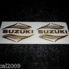 SUZUKI SAVAGE INTRUDER VS-750GLPM VS-1400GLPS TANK DECALS GOLD7350