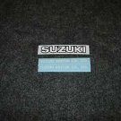 SUZUKI MOTOR CO.,LTD DECALS & REAR TAIL DECAL GS550 GS750 WHT/BLK /WHT