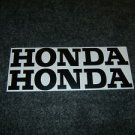 HONDA CR MR MT SL XL XR  FUEL TANK DECALS BLK5