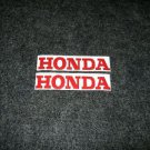 HONDA CR MR MT SL XL XR  FUEL TANK DECALS RED5