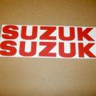 SUZUKI GSX-R GSX-F GSF BANDIT KATANA GS RM-Z DR-Z DECALS RED834