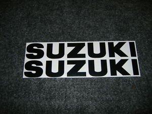 SUZUKI GSX-R GSX-F GSF KATANA BANDIT GS RM DR DR Z RMZ FUEL TANK DECALS BLACK812