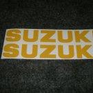 SUZUKI GSX-R GSX-F GSF BANDIT KATANA GS RM-Z DECALS YELR834