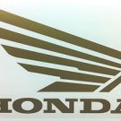HONDA CB CBR CBRR 919 929 954 996 CR XL XR SHADOW FUEL TANK WING DECALS GOLD334