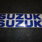 SUZUKI GSX-R GSX-F KATANA BANDIT GS RM-Z DR DR-Z BELLY PAN DECALS BLUE