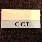 "SUZUKI GT750 GT550 GT380 GT250 GT185 GT125 RE5 TS TC ""CCI"" SIDE PANEL DECAL"