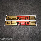 SUZUKI 1977 1978 1979 GS750E GS-750E GS750 GS-750 SIDE COVER DECAL