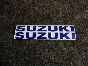 SUZUKI 9.9 BOAT MOTOR DECALS OUT BOARD DECALS SMBLU834