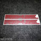 HONDA PRO-LINK TRX CR CRF XL XR TL CBRR SWING ARM DECAL RED SILVER TRIM SM834