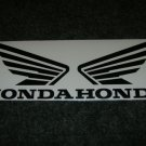 HONDA CB CBR CBRR CR XL XR  FUEL TANK  WING DECALS  MATTE/BLK412