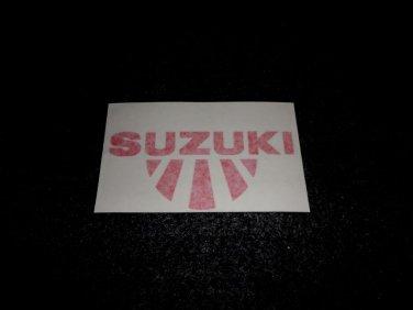 SUZUKI RISING SUN GSXR GSX-F KATANA GS RM-Z DS DR SP TS TC RM TM DECALS RED5/2