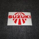 SUZUKI RISING SUN GSXR GSX-F KATANA GS RM-Z DS DR SP TS TC RM TM RV DECALS RED5
