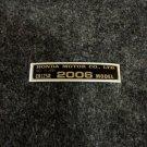 HONDA CR-125R 2006 MODEL TAG HONDA MOTOR CO., LTD. DECALS