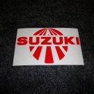 SUZUKI RISING SUN GSXR GSX-F KATANA GS RM-Z DS DR SP TS TC RM TM DECALS RED 5