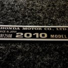 HONDA CRF-250R 2010 MODEL TAG HONDA MOTOR CO., LTD. DECAL