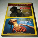Evita Frida Two Movie DVD Collection