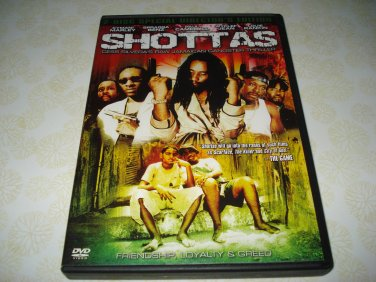 Shottas DVD Starring Kymani Marley