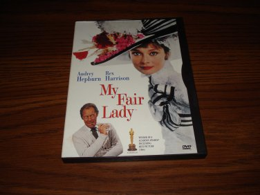 My Fair Lady DVD Starring Audrey Hepburn Rex Harrison