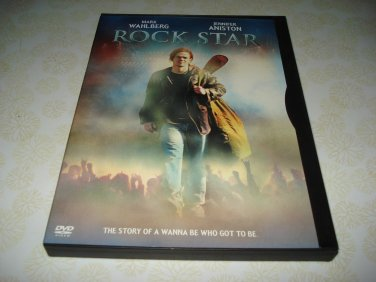 Rock Star DVD Starring Mark Wahlberg Jennifer Anniston