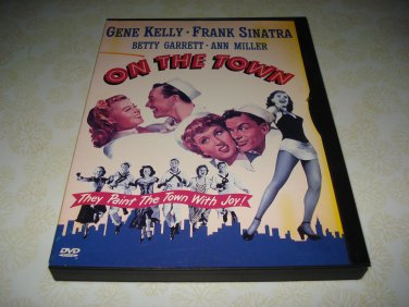 On The Town DVD Starring Gene Kelly Frank Sinatra