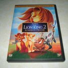 The Lion King 2 Simba's Pride Two Disc Special Edition DVD Set
