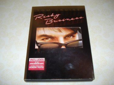Risky Business 25th Anniversary DVD Starring Tom Cruise
