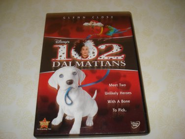 102 Dalmatians DVD Starring Glenn Close