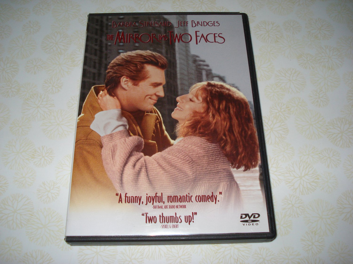The Mirror Has Two Faces DVD Starring Barbara Streisand ...