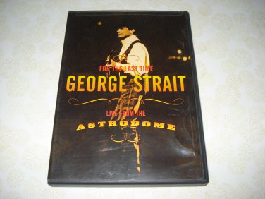 For The Last Time George Strait Live From The Astrodome DVD