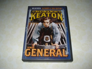 Kino Video The General DVD Starring Buster Keaton