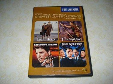 Burt Lancaster Turner Classic Movies Greatest Classic Legends Film Collection DVD