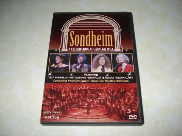 Sondheim A Celebration At Carnegie Hall DVD