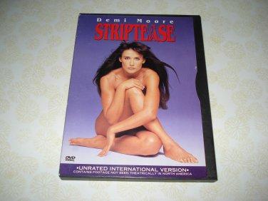 Strip Tease DVD Starring Demi Moore