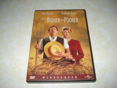 For Richer Or Poorer DVD Starring Tim Allen Kirstie Alley