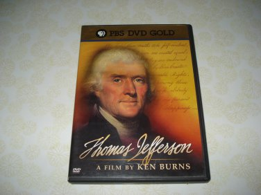 PBS DVD Gold Thomas Jefferson A Film By Ken Burns DVD