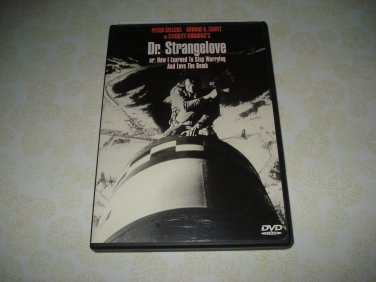 Dr. Strangelove Or How I Learned To Stop Worrying And Love The Bomb DVD