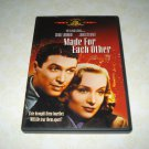 Made For Each Other DVD Starring Carole Lombard James Stewart