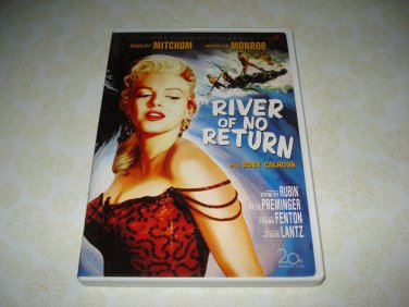River Of No Return DVD Starring Marilyn Monroe Robert Mitchum
