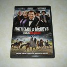 Hatfields & McCoys Bad Blood DVD Starring Jeff Fahey Perry King Christian Slater