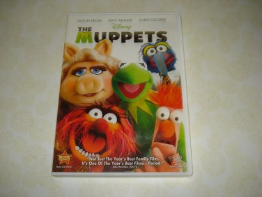 The Muppets DVD Starring Jason Segel Amy Adams Chris Cooper