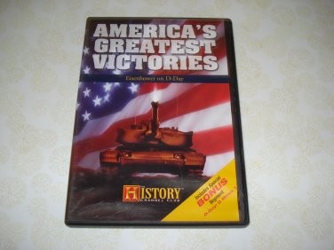History Americas Greatest Victories Eisenhower On D Day DVD