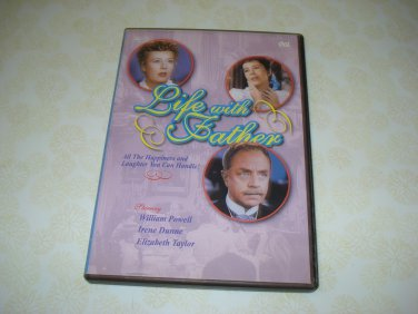 Life With Father DVD Starring William Powell Irene Dunn Elizabeth Taylor