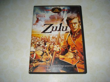 Zulu DVD Starring Stanley Baker Jack Hawkins Michael Caine