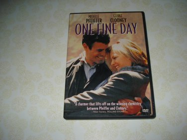 One Fine Day DVD Starring Michelle Pfeiffer George Clooney