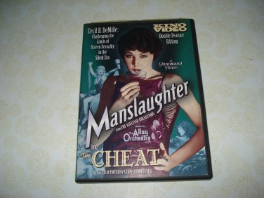 Kino Video Double Feature Edition Manslaughter And The Cheat DVD