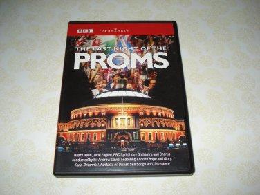 The Last Night Of The Proms BBC DVD