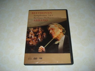 Beethoven Symphonies 3,9 Berliner Philharmoniker DVD