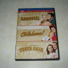 Carousel Oklahoma! State Fair Triple Feautre Three DVD Set